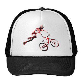Vélo de montagne casquette de camionneur