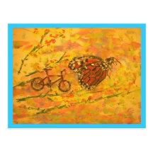 Vélo de montagne le Colorado Cartes Postales