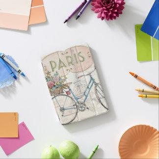 Vélo de Paris avec des fleurs Protection iPad Mini