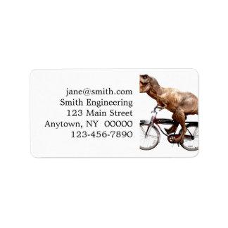 Vélo d'équitation de Trex Étiquette D'adresse