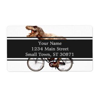 Vélo d'équitation de Trex Étiquette D'expédition
