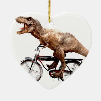 Vélo d'équitation de Trex Ornement Cœur En Céramique