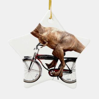 Vélo d'équitation de Trex Ornement Étoile En Céramique