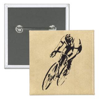 Vélo emballant le vélodrome badge