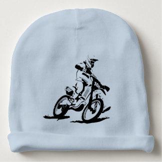 Vélo et cavalier simples de Motorcross Bonnet De Bébé