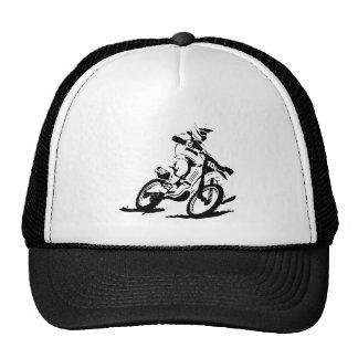 Vélo et cavalier simples de Motorcross Casquettes
