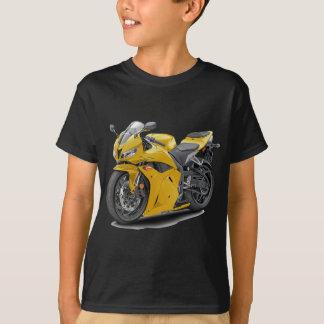 Vélo jaune de CBR 600 T-shirt