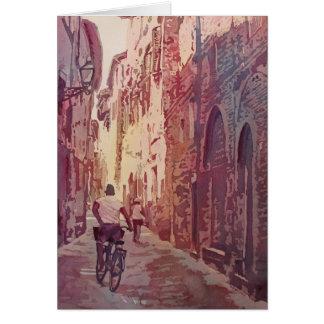 Vélo Lucques Carte De Vœux