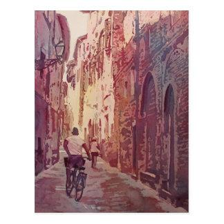 Vélo Lucques Carte Postale