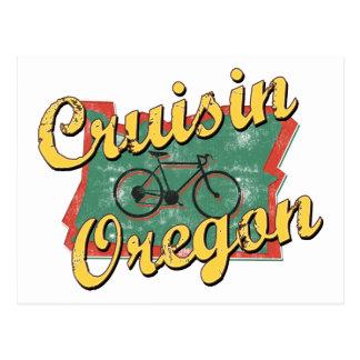 Vélo Orégon Cruisin Carte Postale