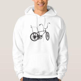 Vélo original de vieille école veste à capuche