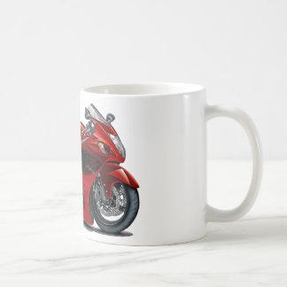 Vélo Rouge-Noir de Hayabusa Mug Blanc