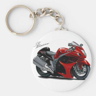 Vélo Rouge-Noir de Hayabusa Porte-clés