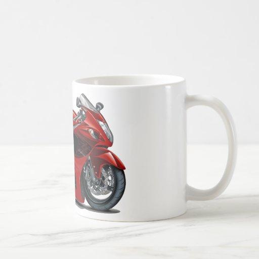Vélo Rouge-Noir de Hayabusa Tasse À Café