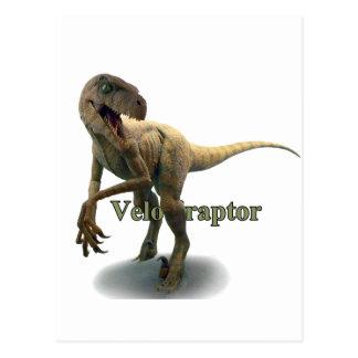 Velociraptor Carte Postale