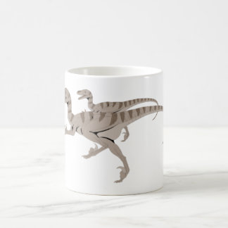 velociraptoren mug