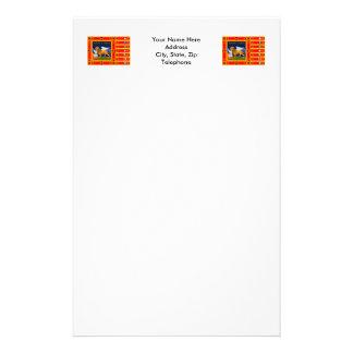 Vénétie diminuent papier à lettre customisable