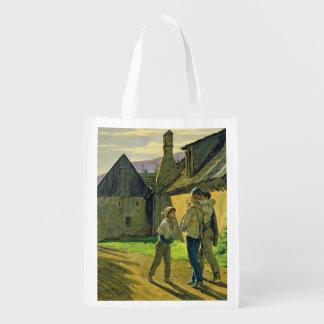 Venez à la maison de la guerre, 1859 sac d'épicerie