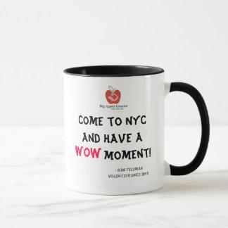 Venez à NYC et ayez un moment de wow ! Tasse