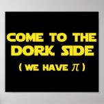 Venez au côté de Dork nous avons pi Affiche