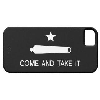 Venez il falloir le ~ le Texas de drapeau Étui iPhone 5