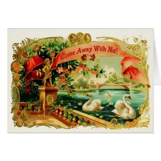 Venez loin avec moi ! cartes de vœux