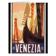 Venezia 1920 cartes de vœux