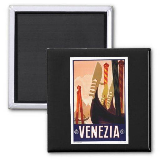 Venezia vintage aimant pour réfrigérateur