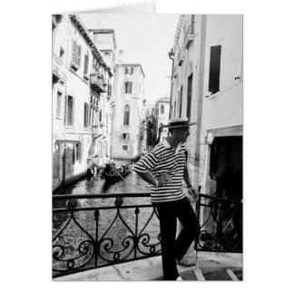 Venise 4 carte de vœux
