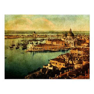 Venise a observé carte postale