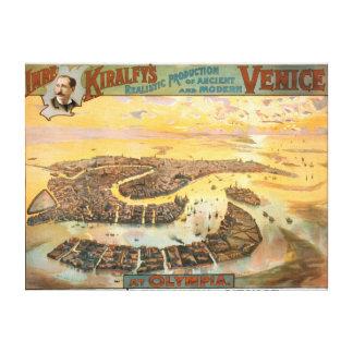 Venise antique et moderne à la vue aérienne d'Olym Toiles
