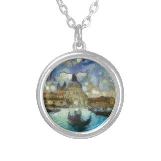 Venise-canal de Van Gogh Collier