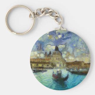 Venise-canal de Van Gogh Porte-clés
