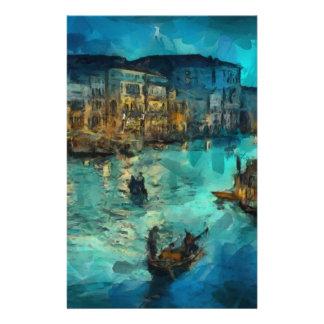 Venise Canale grand Papiers À Lettres