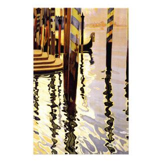Venise et le Lido Papier À Lettre Customisable