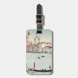 Venise, Italie   le canal grand Étiquette Pour Bagages