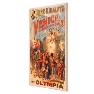 Venise, jeune mariée de la mer au ballet d'Olympia Toiles