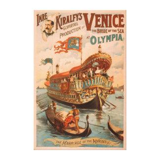 Venise, jeune mariée de la mer aux gondoles d'Olym Toiles