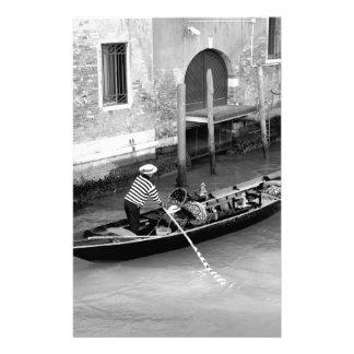 Venise Motifs Pour Papier À Lettre