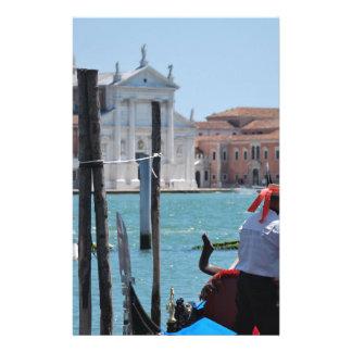 Venise Papier À Lettre Customisable