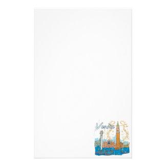 Venise Papier À Lettre Personnalisable