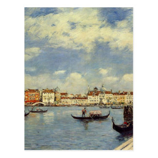 Venise par Eugene Boudin Carte Postale