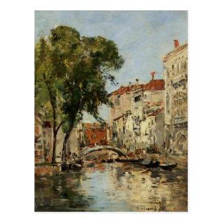 Venise par Eugene Boudin Cartes Postales