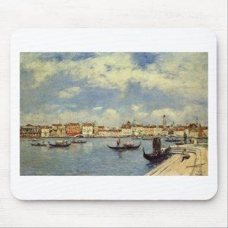 Venise par Eugene Boudin Tapis De Souris