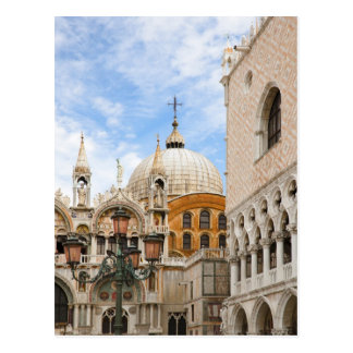 Venise, Vénétie, Italie - des oiseaux sont étés pe Carte Postale