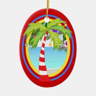 VENTE ! Arbre de Noël de paradis Ornement Ovale En Céramique