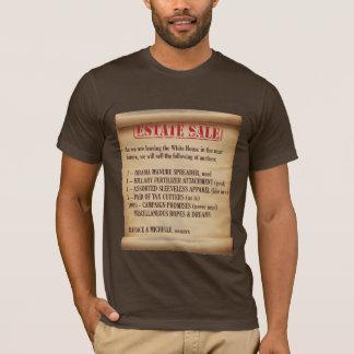 Vente de domaine de la Maison Blanche d'Obama T-shirt