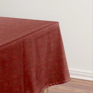 Vente en bois rouge de nappe de la nappe