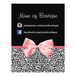 Vente promotionnelle de léopard de ruban à la mode