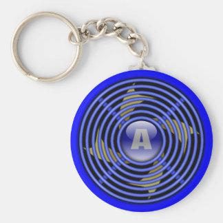 Ventilateur d'extraction réversible de 4 lames porte-clé rond